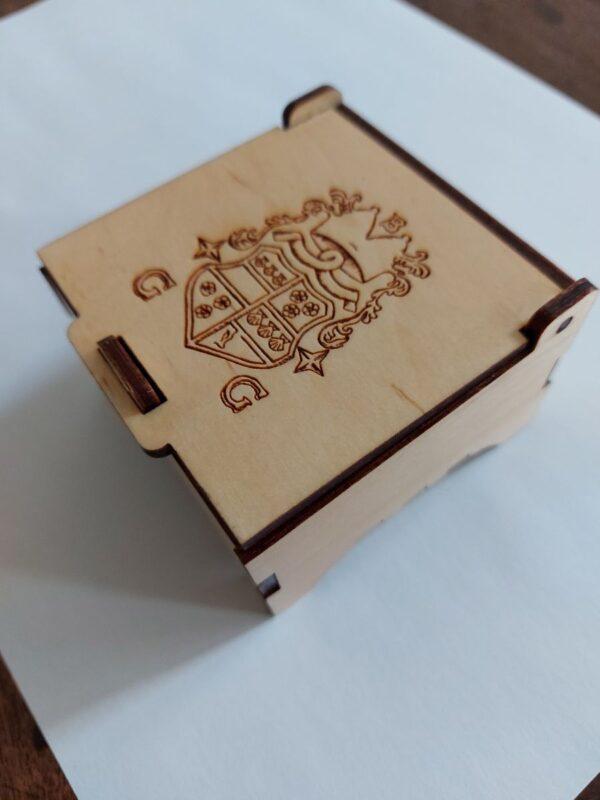 Bishop Graham Armorial Trinket Box