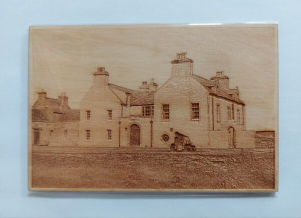 Lasercut Picture Skaill House 1